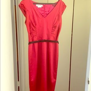 Cherry Red Kay Unger Dress. Size 6. Like New
